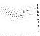 grunge halftone background.... | Shutterstock .eps vector #585226775