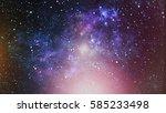 high definition star field... | Shutterstock . vector #585233498