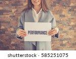 performance concept | Shutterstock . vector #585251075