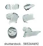 cosmetic products smear paint... | Shutterstock . vector #585264692
