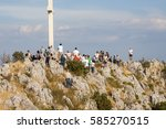 hvar  croatia   circa september ... | Shutterstock . vector #585270515