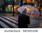 Raining Day In Nagoya Japan