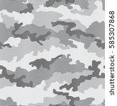 urban camouflage seamless... | Shutterstock .eps vector #585307868