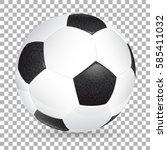 high detailed realistic soccer... | Shutterstock .eps vector #585411032