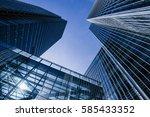 modern skyscrapers   Shutterstock . vector #585433352