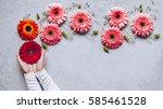 dreaming concept. creative... | Shutterstock . vector #585461528