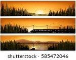 vector illustration of... | Shutterstock .eps vector #585472046