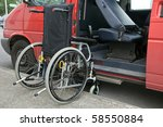 photo outdoor wheelchair access ... | Shutterstock . vector #58550884