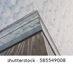 skyscraper buildings and sky... | Shutterstock . vector #585549008