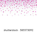 vector flower  pattern... | Shutterstock .eps vector #585573092