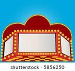 marquee vector | Shutterstock .eps vector #5856250