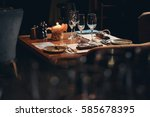 tableware | Shutterstock . vector #585678395