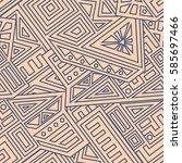 unique geometric vector...   Shutterstock .eps vector #585697466