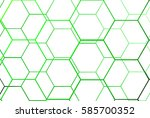sport background. green net. | Shutterstock .eps vector #585700352