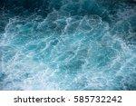 sea water texture background ... | Shutterstock . vector #585732242