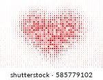pixelated heart pattern as a...