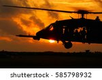 A Military Helicopter With...