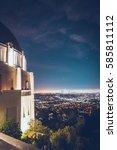 Los Angeles Skyline  Griffith...