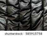 black leather background. | Shutterstock . vector #585915758