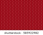 polka dot pattern vector. | Shutterstock .eps vector #585922982