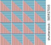 seamless vector abstract... | Shutterstock .eps vector #585927035