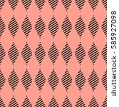 seamless vector abstract... | Shutterstock .eps vector #585927098