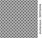 repeated white figures on black ...   Shutterstock .eps vector #585936446