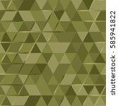 khaki seamless pattern with...   Shutterstock .eps vector #585941822