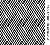 vector seamless pattern. modern ... | Shutterstock .eps vector #586017788