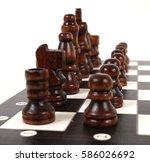 chess | Shutterstock . vector #586026692