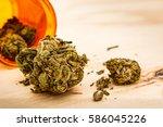 marijuana for medical use | Shutterstock . vector #586045226
