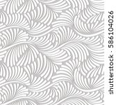 white texture  seamless pattern.... | Shutterstock .eps vector #586104026