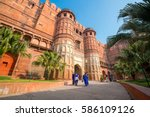 Heritage Site Agra Fort  Or Re...