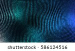 bright colorful elegant... | Shutterstock . vector #586124516