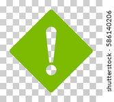 error rhombus vector icon.... | Shutterstock .eps vector #586140206