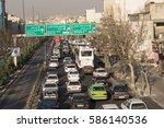 tehran  iran   february 22 ...   Shutterstock . vector #586140536