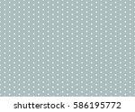 polka dot pattern vector.... | Shutterstock .eps vector #586195772