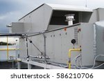air handling unit for the... | Shutterstock . vector #586210706