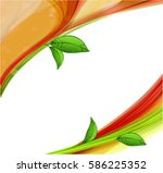 abstract nature background  | Shutterstock .eps vector #586225352