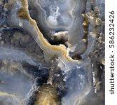 Dark Marble Surface Background