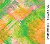 abstract grunge seamless... | Shutterstock .eps vector #586265732