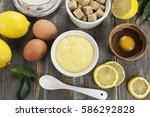 Lemon Cream Curd In The Ceramic ...
