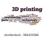 vector concept or conceptual 3d ... | Shutterstock .eps vector #586323386