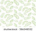 seamless pattern light green... | Shutterstock .eps vector #586348532