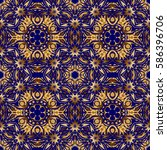ornamental pattern for... | Shutterstock .eps vector #586396706