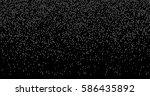 falling pixels. pixel abstract... | Shutterstock .eps vector #586435892