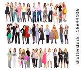 3 business tribes   Shutterstock . vector #58644106