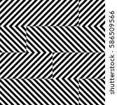 vector seamless pattern.... | Shutterstock .eps vector #586509566