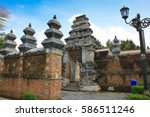 tombs of the kings mataram in... | Shutterstock . vector #586511246