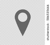 map pointer vector icon eps 10. ...